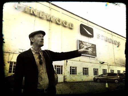Pinewood Studios pose