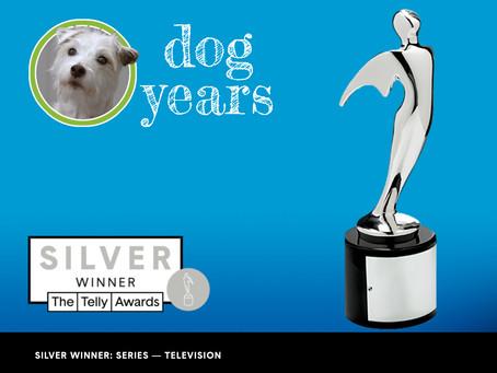 Dog Years Wins 2 Telly Awards!