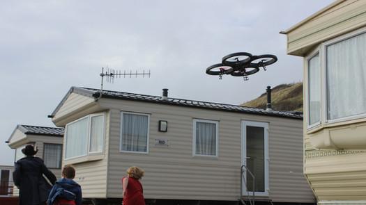 Attack of the killer drone!