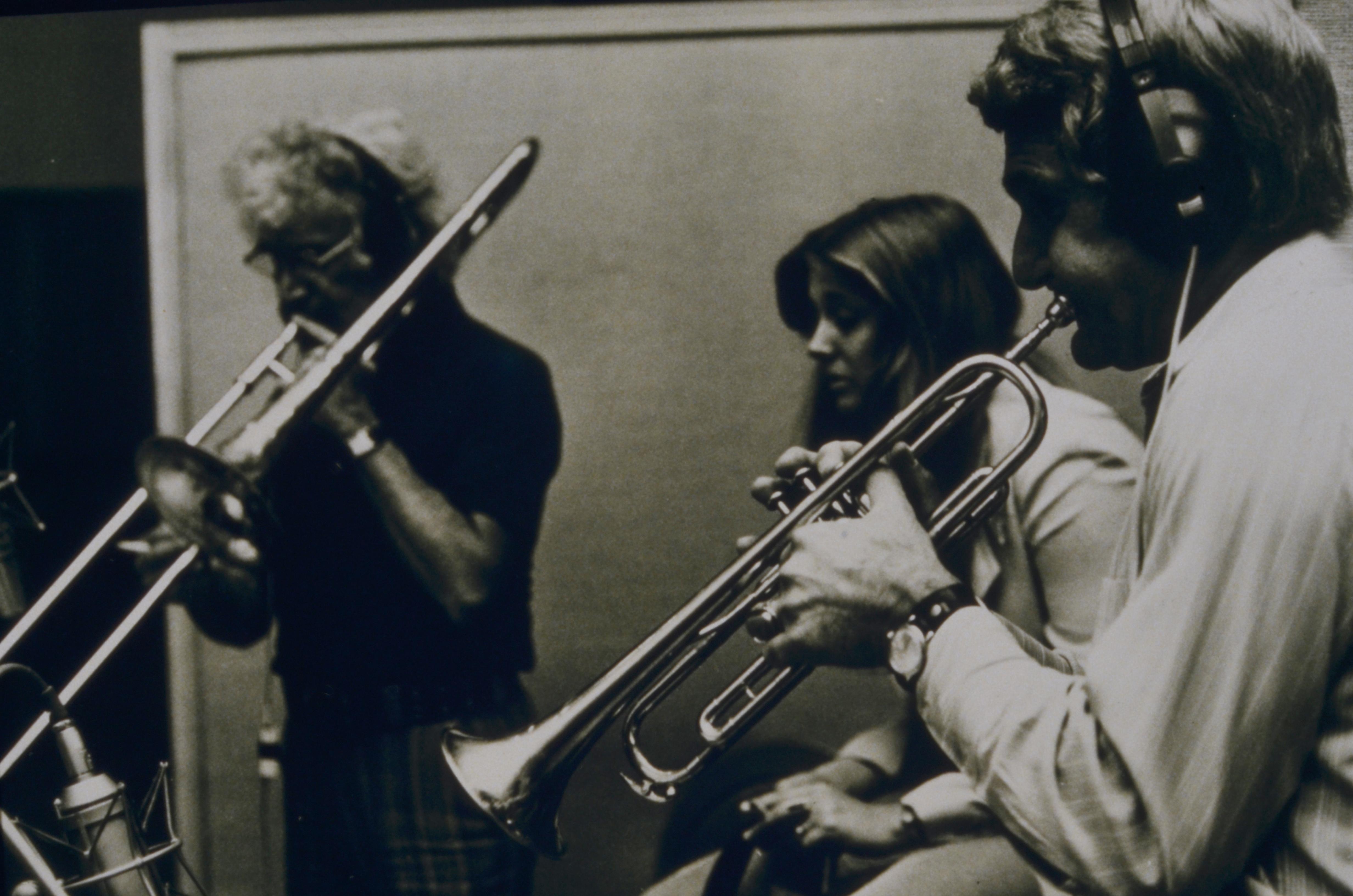 Frank, Diane, Conte Candoli