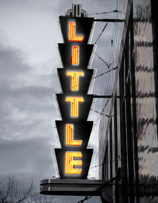 "Bill Coppard's ""The Little Theatre"""