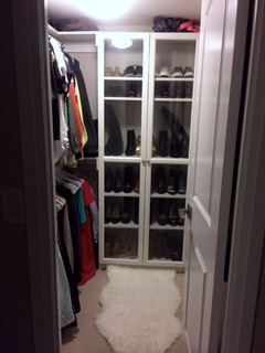 Built-In Walk In Closet