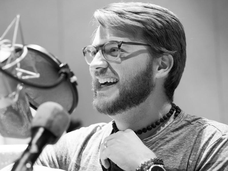 Recording at Minnesota Public Radio