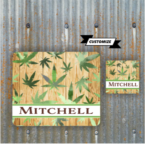 Mitchell Mosepad + Coaster
