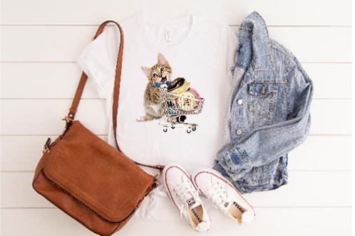 Cart & Kitten