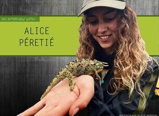Alice Péretié Interview
