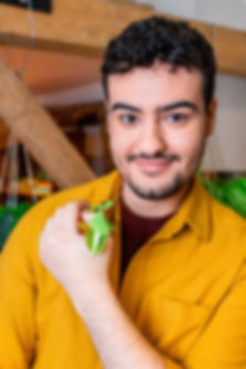Yussef Rafik - Bugface - BBC Earth