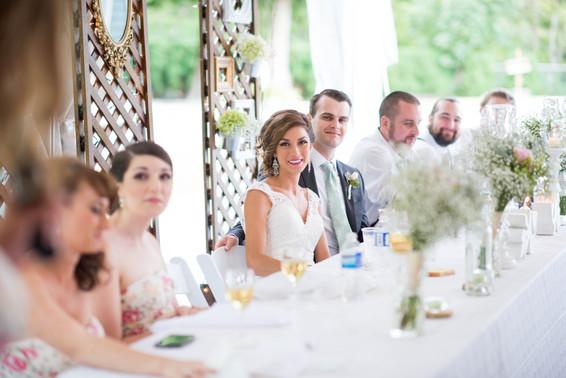 Bobbi and Scott. Fraser Valley Backyard Wedding.