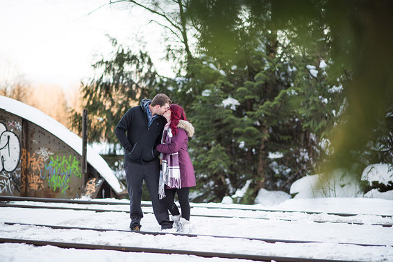 Alex and Stephen. Fraser Valley Engagement