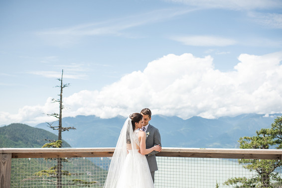 Melanie and Paul. Cheakamus Centre, Squamish