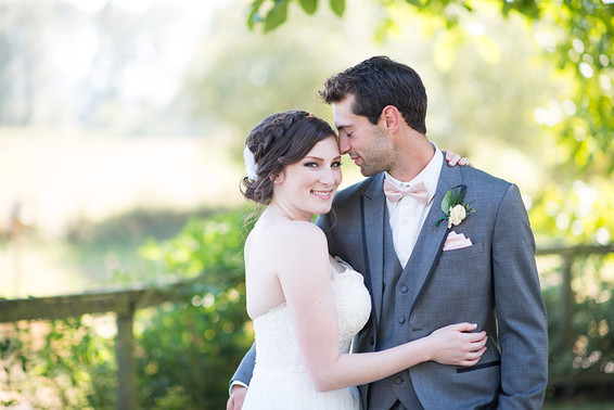 Holly and Kyle. Fraser Valley Backyard Wedding