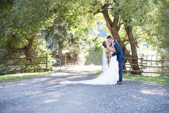 Lindsey and Spencer. Okanagan Wedding
