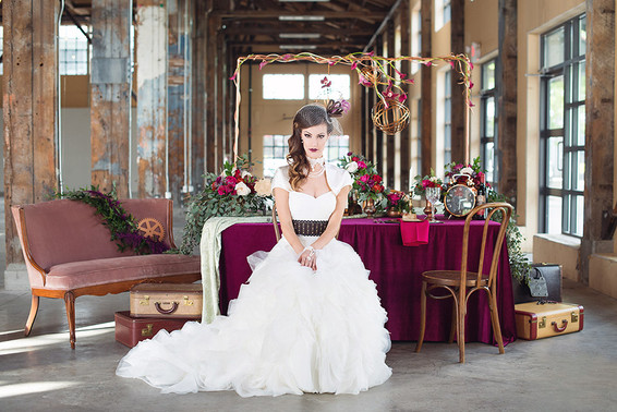 Steampunk Styled Shoot.           Vancouver Wedding Photographer