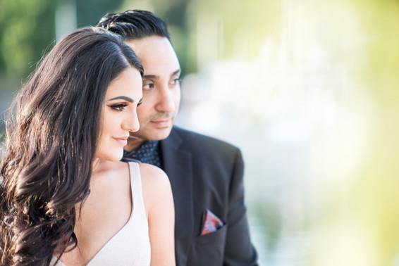 Paris and Jafar.                              Vancouver Engagement