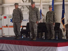 Change of Command: Col. Allen to Col. Miller