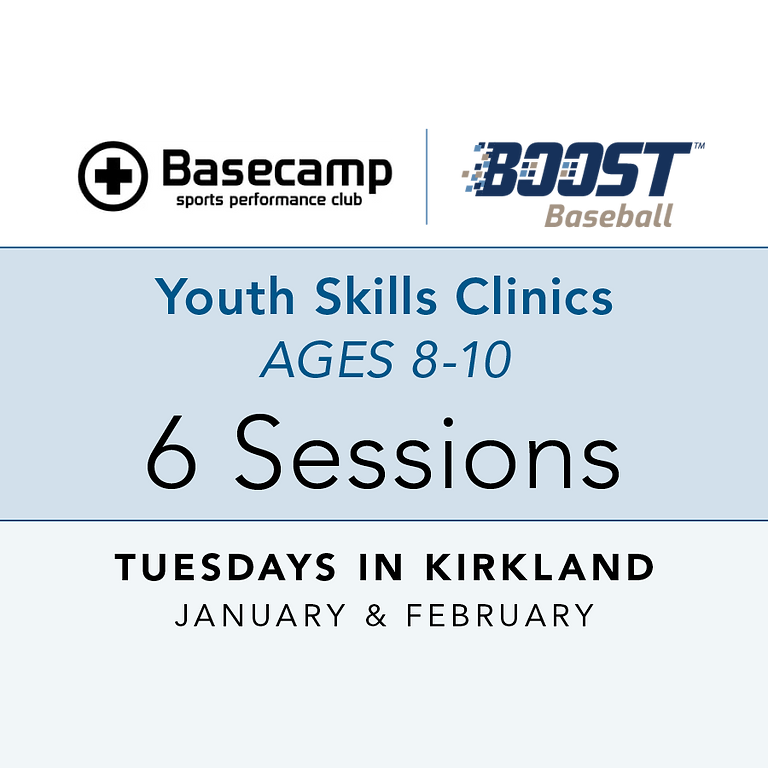 Age 8-10 - Youth Clinic - Tuesdays 6pm