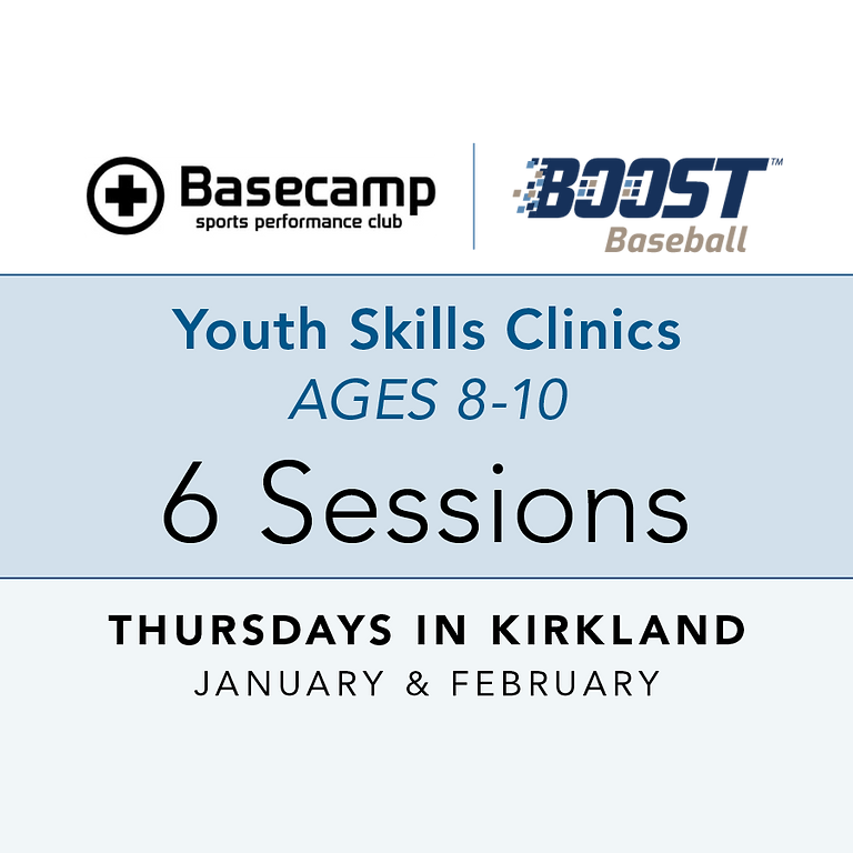 Age 8-10 - Youth Clinic - Thursdays 6pm