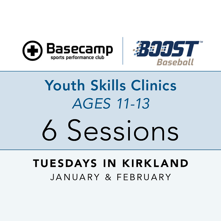 Age 11-13 - Youth Clinic - Tuesdays 7pm