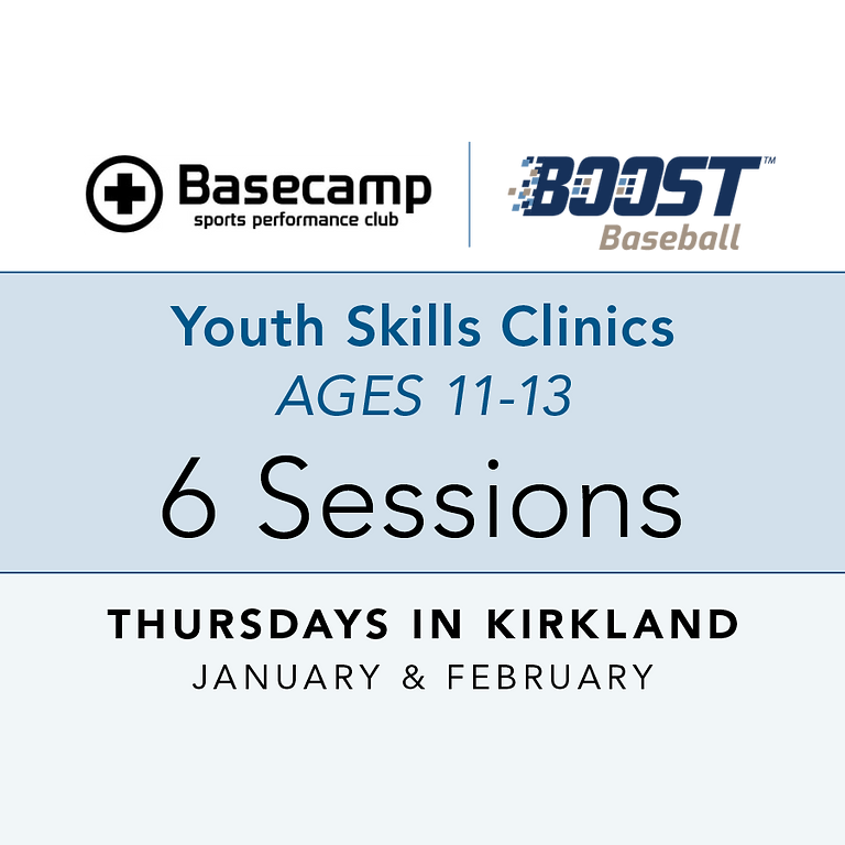Age 11-13 - Youth Clinic - Thursdays 7pm