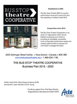 Bus Stop Theatre Business Plan