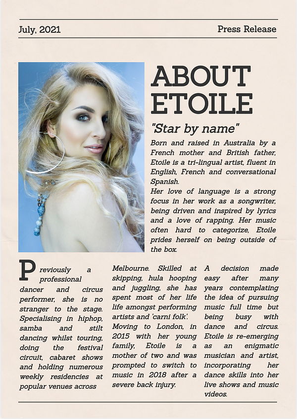 Etoile Marley press release.png