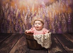Emma Six Month Photos
