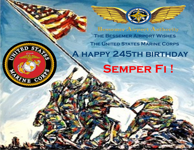 Happy Veteran's Day and Marine Corps Birthday