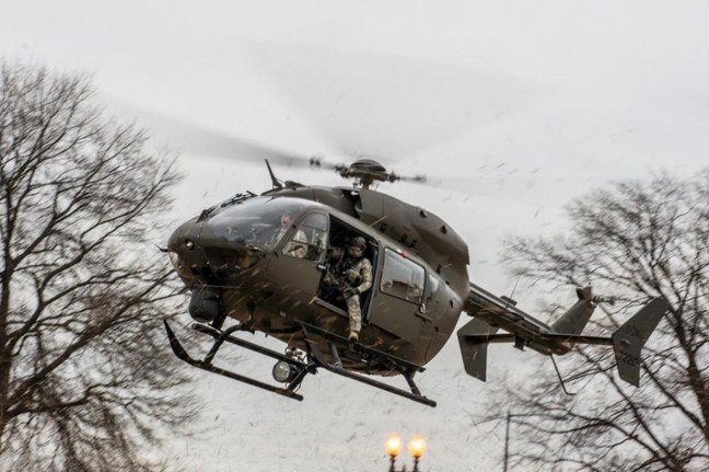 Helicopters Investigated During Protests