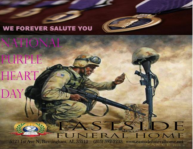 National Purple heart Day 2021