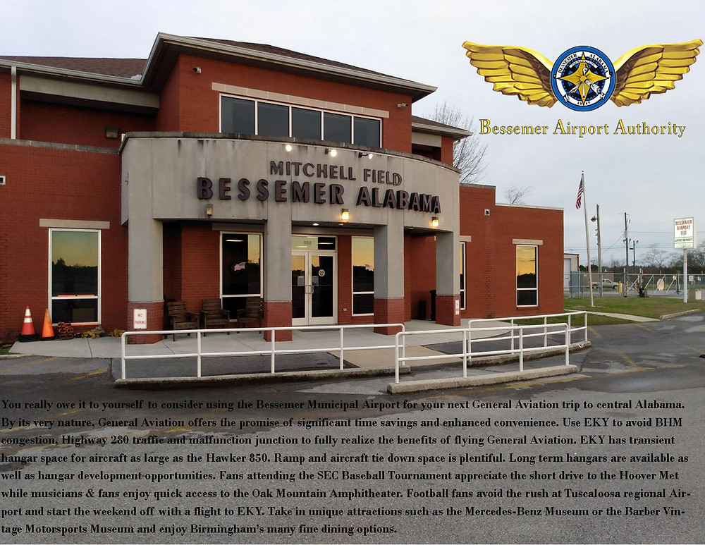 Sponsored By Bessemer Airport (EKY)