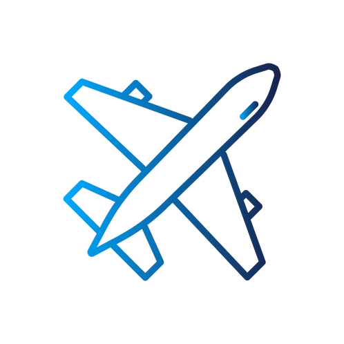 Offset an economy class transatlantic return flight : 2 credits