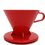 Thumbnail: Tiamo Cone Dripper Red -Large size