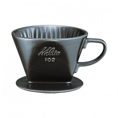 Kalita 102 Ceramic Dripper (Black)