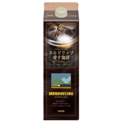 Funnel drip iced coffee (Mandheling G1) 1L