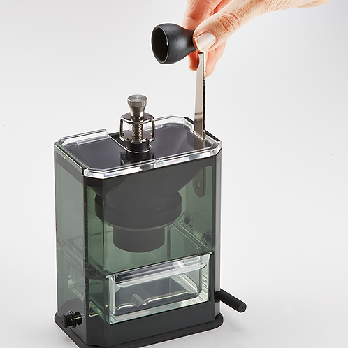 HARIO Clear Coffee Grinder  MXR-2TB