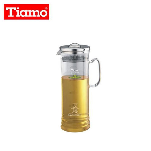 Tiamo Tea Pot w/ stainless steel mesh filter 1000ml /HG1958