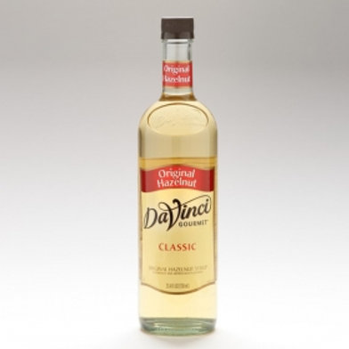 DaVinci Hazelnut Syrup 750ml