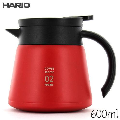 Hario V60 Insulated Stainless Steel Server 600ml VHS-60R