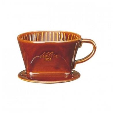 Kalita 101 Ceramic Dripper (Brown)