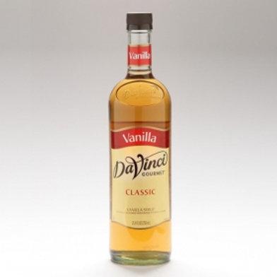 DaVinci Classic Vanilla Syrup 750ml
