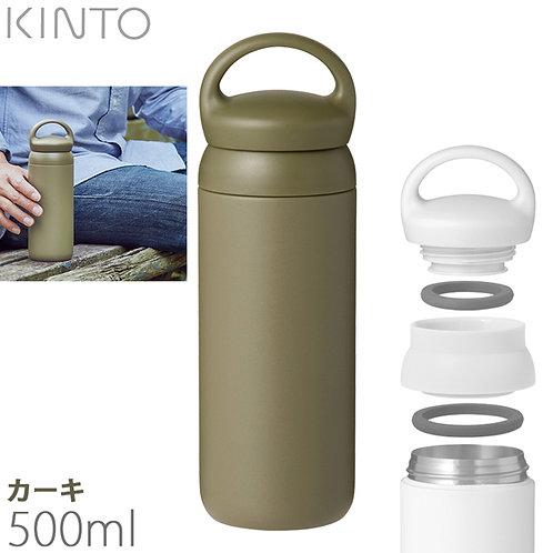 Kinto Day-off Tumbler 500ml Khaki