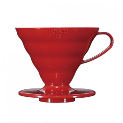 HARIO V60 Coffee Dripper 02 / Red
