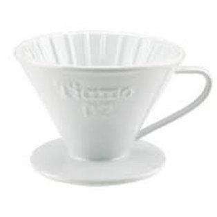 Tiamo Ceramic Cone Dripper White-02