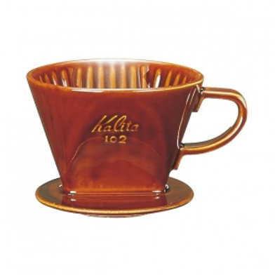 Kalita 102 Ceramic Dripper (Brown)