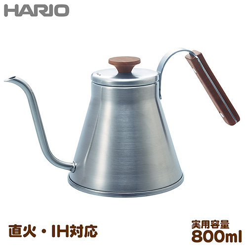 Hario V60 Drip Kettle Wood (800ml) VKW-120HS