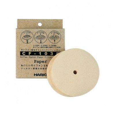 HARIO Syphon Parts CF-103E Paper Filter