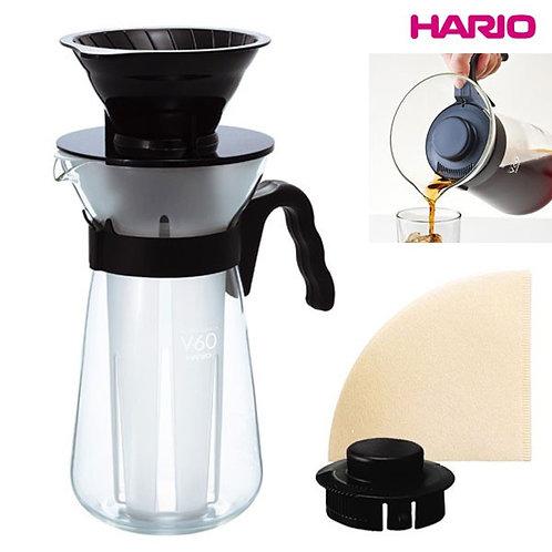 HARIO V60 Pour Over Ice Coffee Maker MC-02B