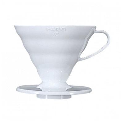 HARIO V60 Coffee Dripper 02/ White