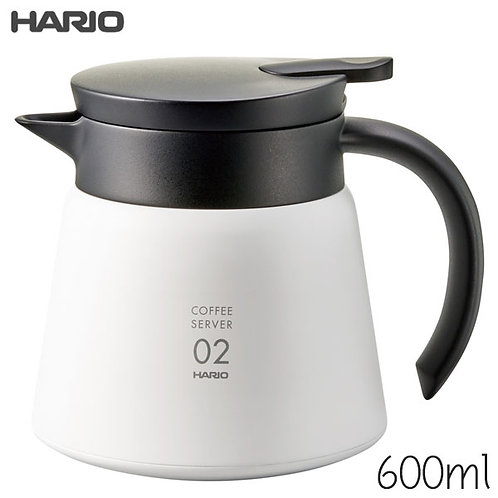 Hario V60 Insulated Stainless Steel Server 600ml VHS-60W