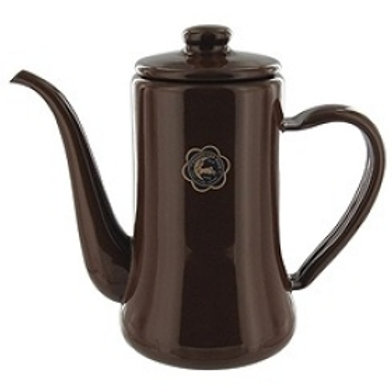 TUKIUSAGIJIRUSI Enamel Slim Pot 1.2L (Brown)